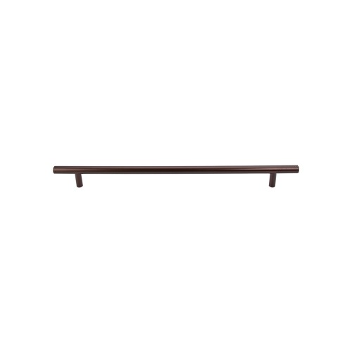 Style: Contemporary Finishes: Brushed Satin Nickel, Oil Rubbed Bronze, Polished Nickle, Satin Nickle, Polished Chrome, Flat Black, Honey Bronze, Ash Gray Material: Steel Length: 17 13/16 in. Width: 15/32 in. Projection: 1 7/16 in. Center-to-Center*: 15 in. Base Diameter:3/8 in. * C to C is the center-to-center measurement between the screw holes
