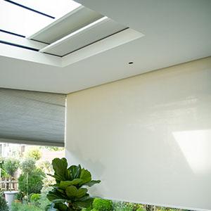 Blindspace showroom corner