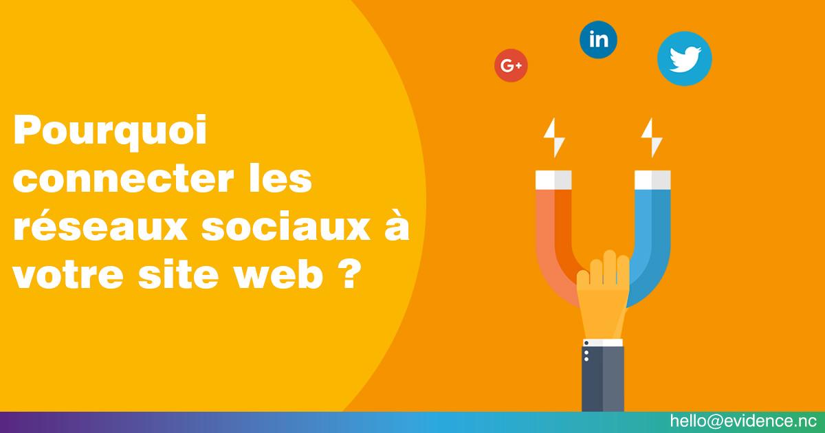 Pourquoi connecter les réseaux sociaux à votre site web ?