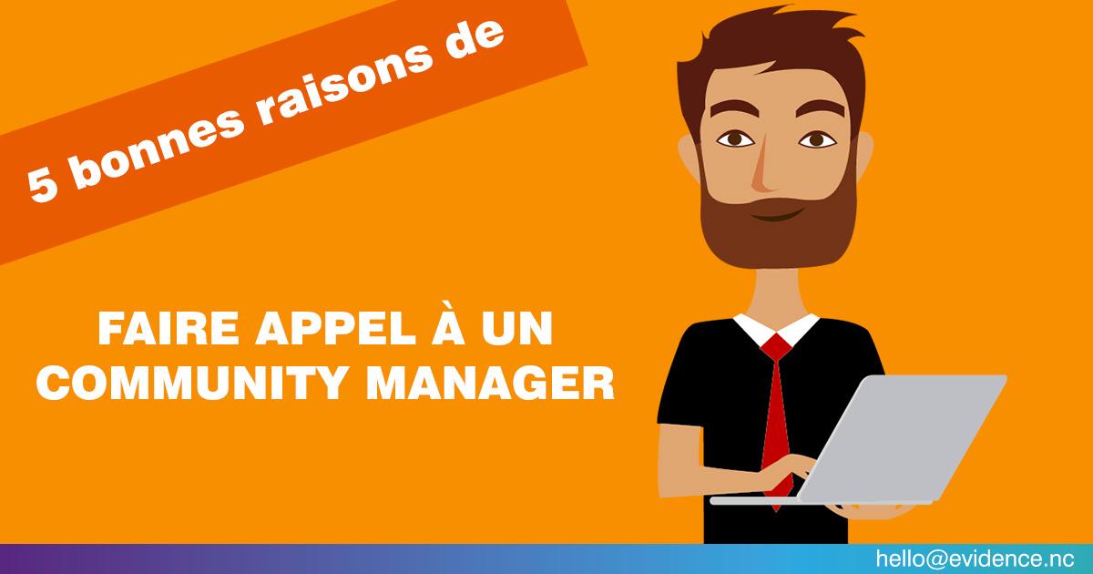 5 bonnes raisons de faire appel à un Community manager