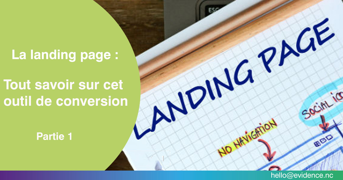 La landing page (Partie 1)