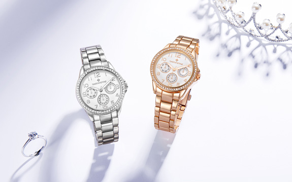 katy women's chronograph