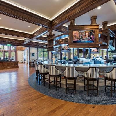 Inside Pool Bar Cafe