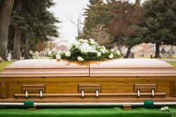 American style casket