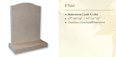 nabrasina look a like headstone