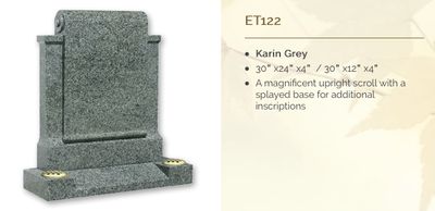Karin Grey headstone
