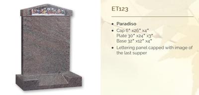 paradiso headstone
