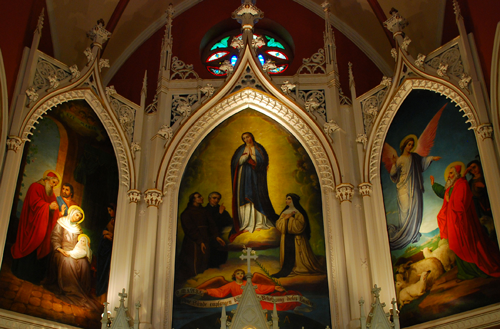 Image of roman catholic paintings