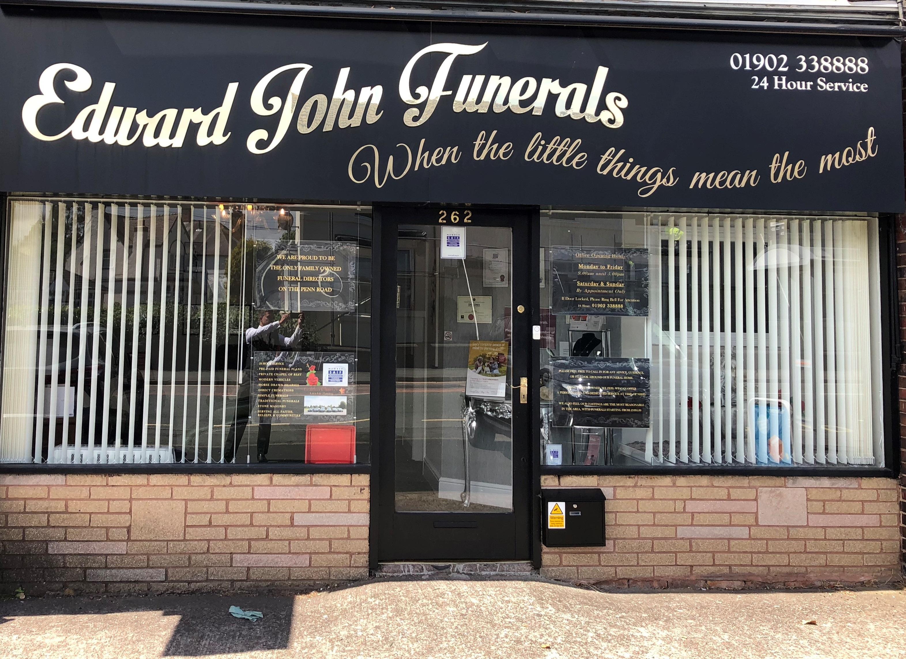 funeral directors in wolverhampton
