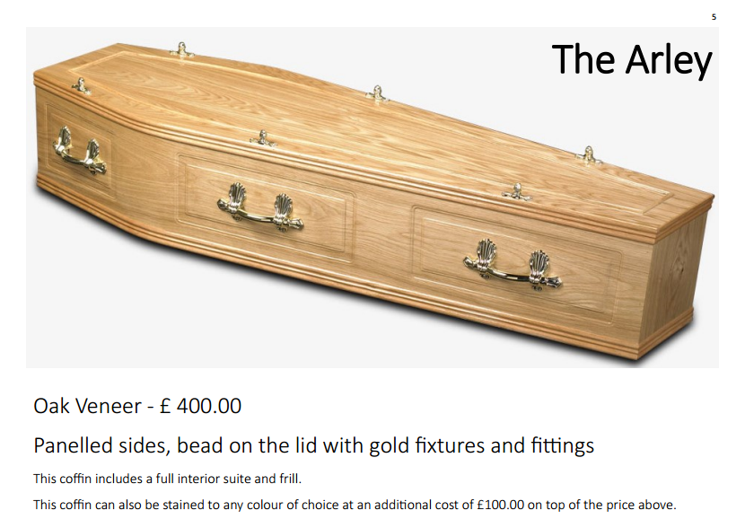 the milldale coffin