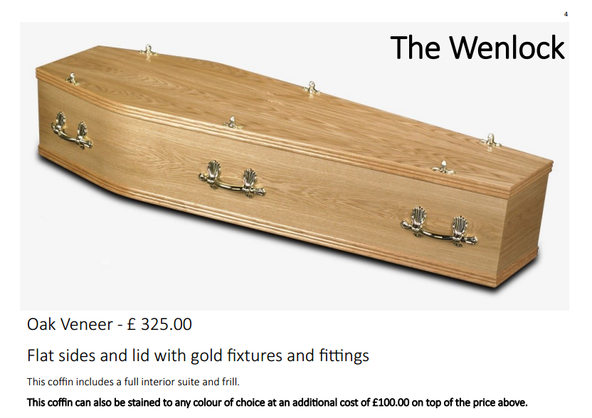 the york coffin