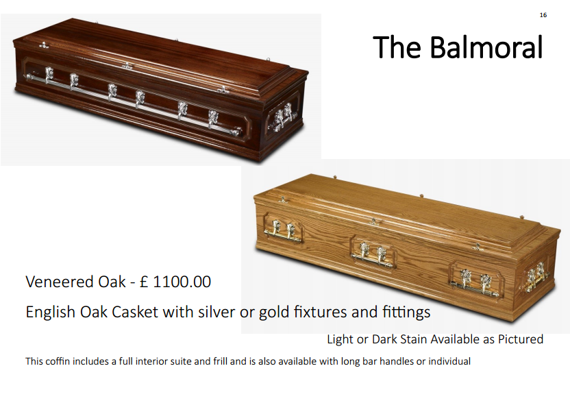 the westminster casket