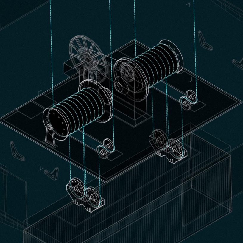 VFX und Informationsgrafiken für große Maschinen