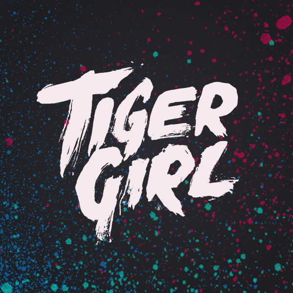 Titeldesign für den Film TIGER GIRL