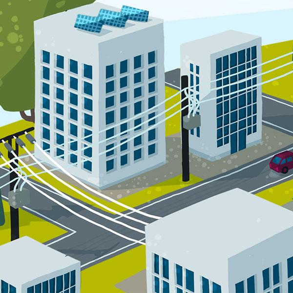 Erneuerbare Energien und intelligente Netze