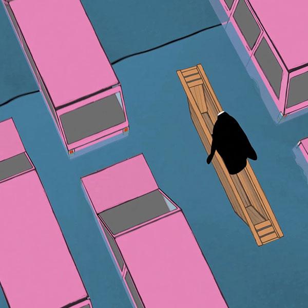 Animationsfilm zum Wahnsinn des modernen Lebens