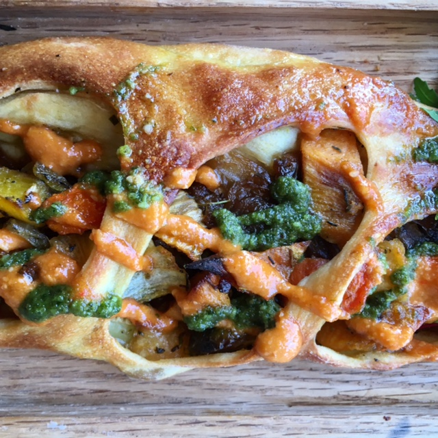 Roasted Vegetable Fougasse