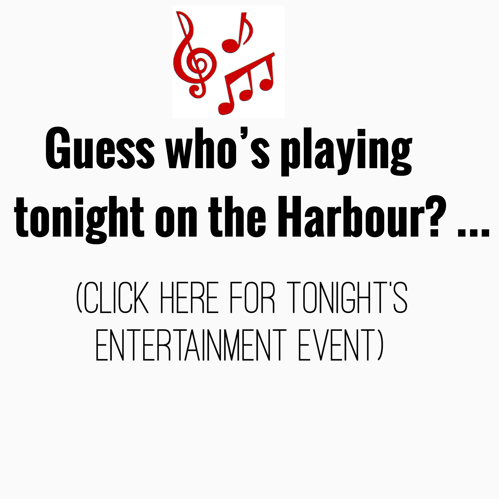 Music & Taste Tonight 6-9PM! Tonights band is .......
