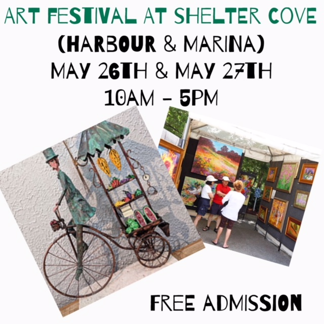 Shelter Cove Art Fest MEMORIAL DAY WEEKEND