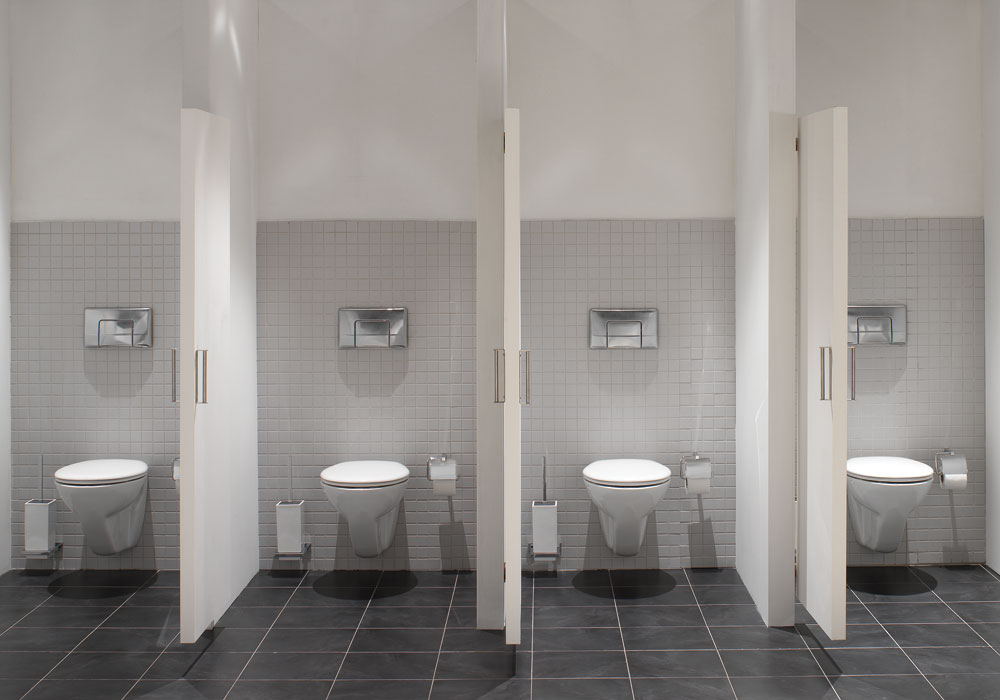 Cetus Wall Hung Toilet, Rimless Available for High Traffic Washrooms