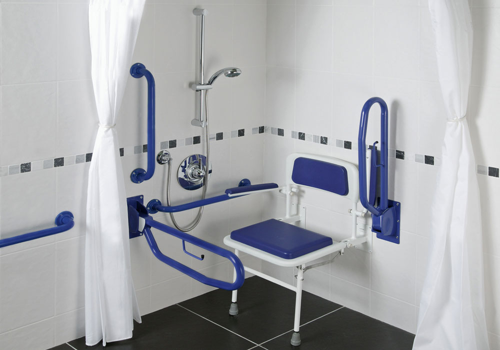 Healey & Lord Economy Doc M Shower Pack - Blue Rails
