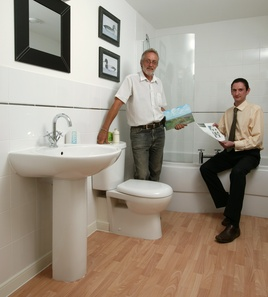 Developer Discovers Affordable Stylish Bathrooms