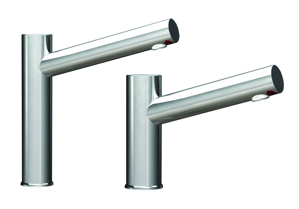 Aquarius Pillar Taps, High Neck & Short Version Infrared Taps