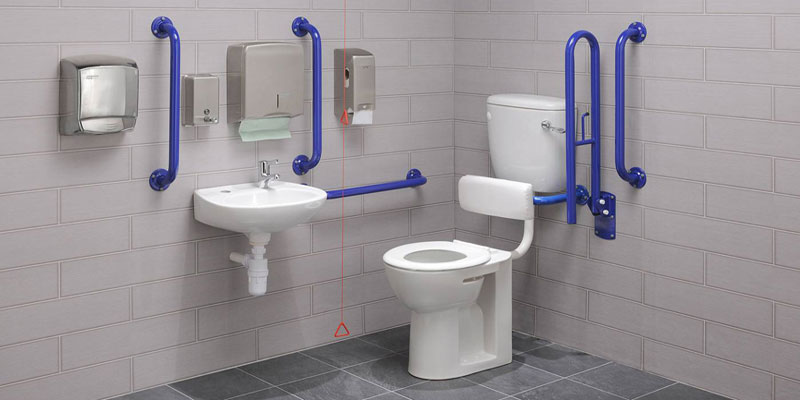 Healey & Lord Economy Range of Disabled Toilet Doc M Packs