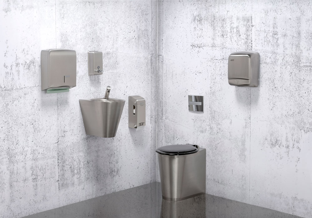 Security Stainless Steel Toilets, Anti-Vandal