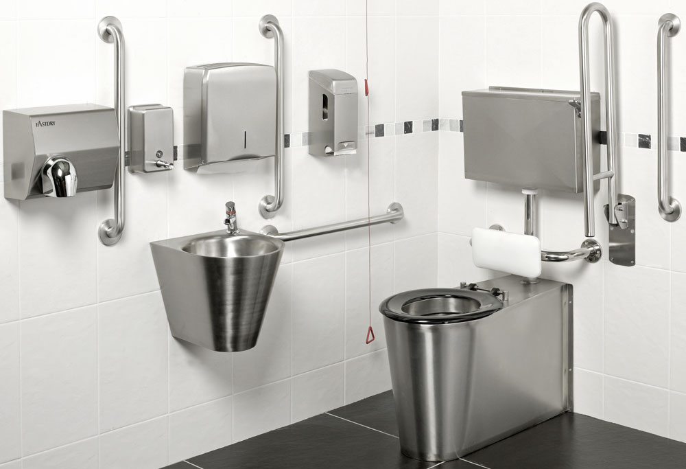 Armourlight Stainless Steel Doc M Pack, Infrared Tap & Lever Flush Control