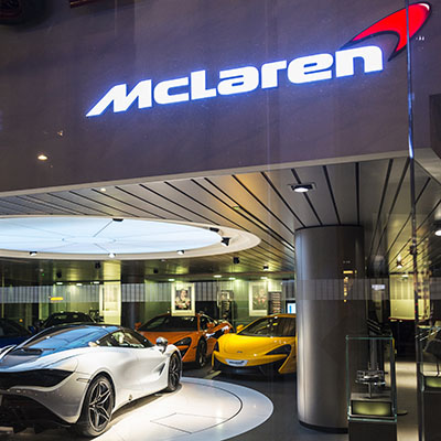 Supply to New McLaren Supercar Production Centre