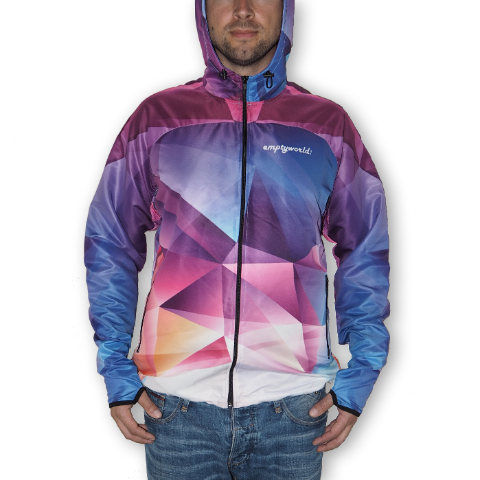 emptyworld jacke triangle
