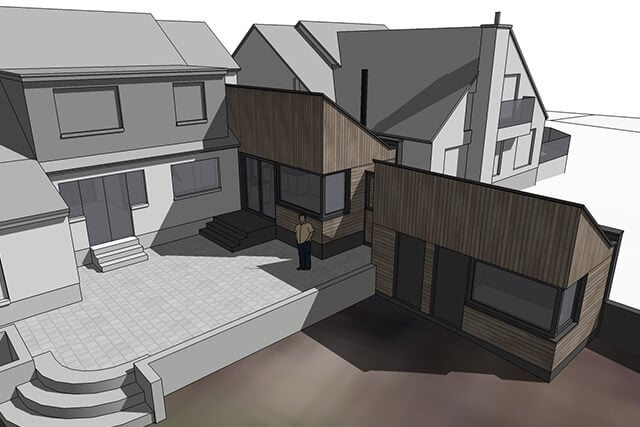 House Extension with Garden Room
