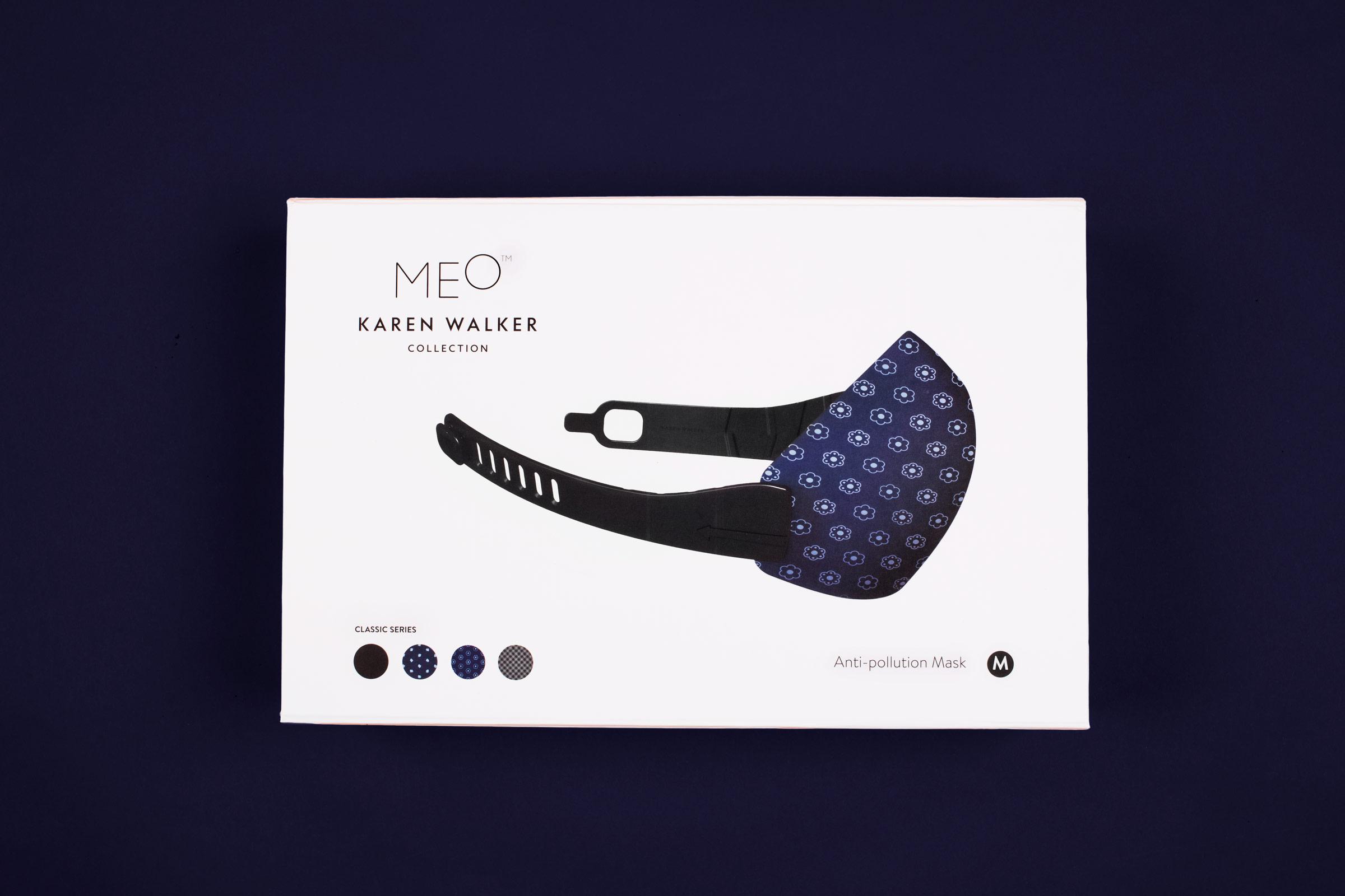 MEO Karen Walker Face Mask Packaging