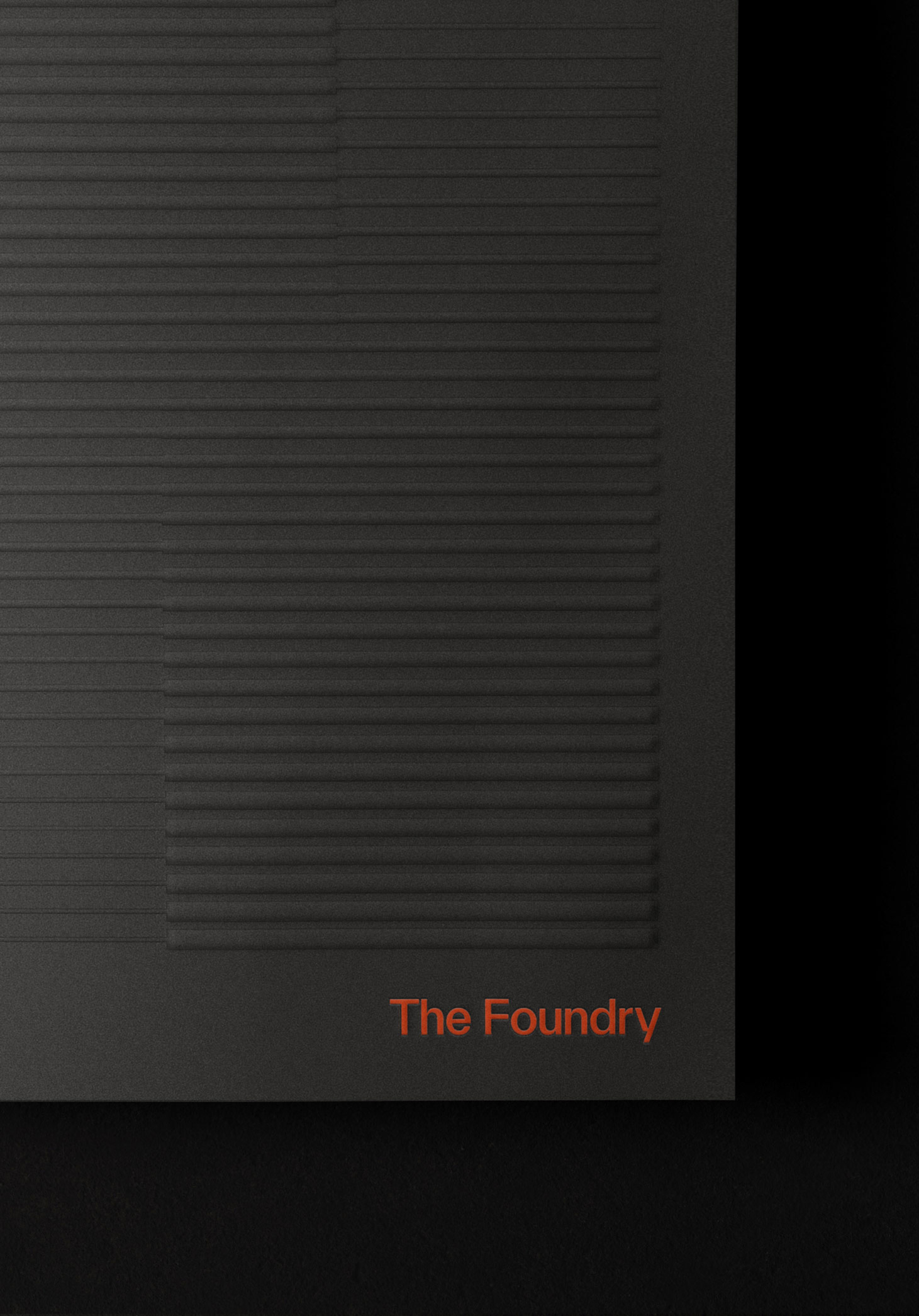The Foundry Brochure Cover