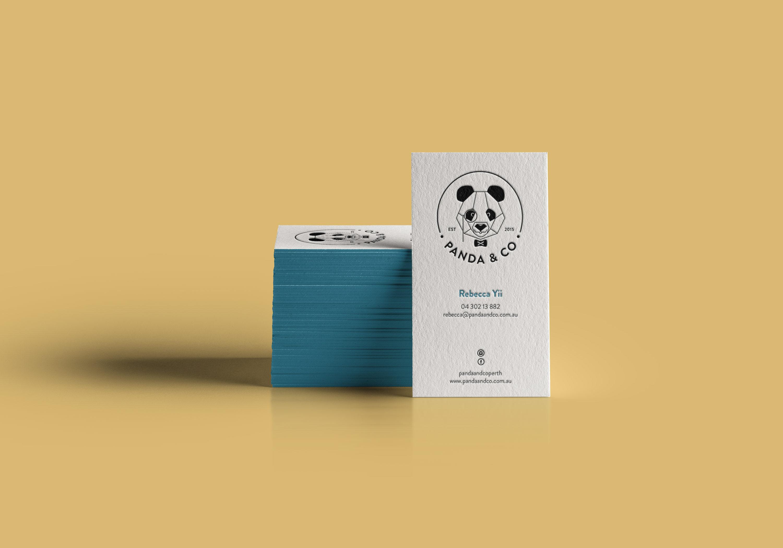 Panda & Co Perth Brand - Business cards