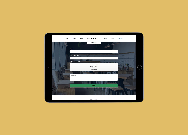 Panda & Co Perth Website