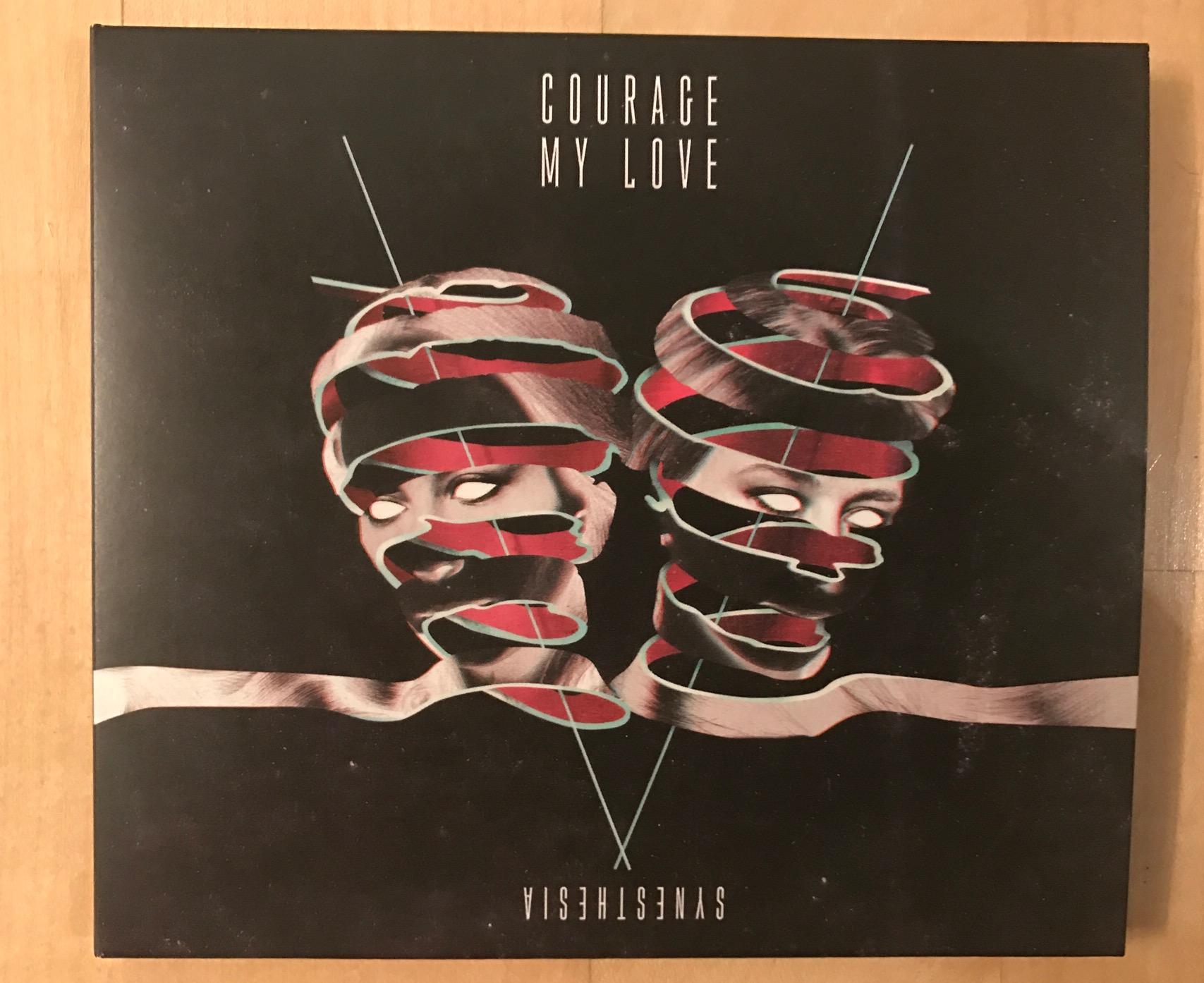 cdの発売がいよいよ開始 courage my love
