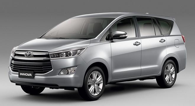 kích thước giá xe Innova 2016