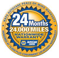 24 Month 24,000 Mile Warranty