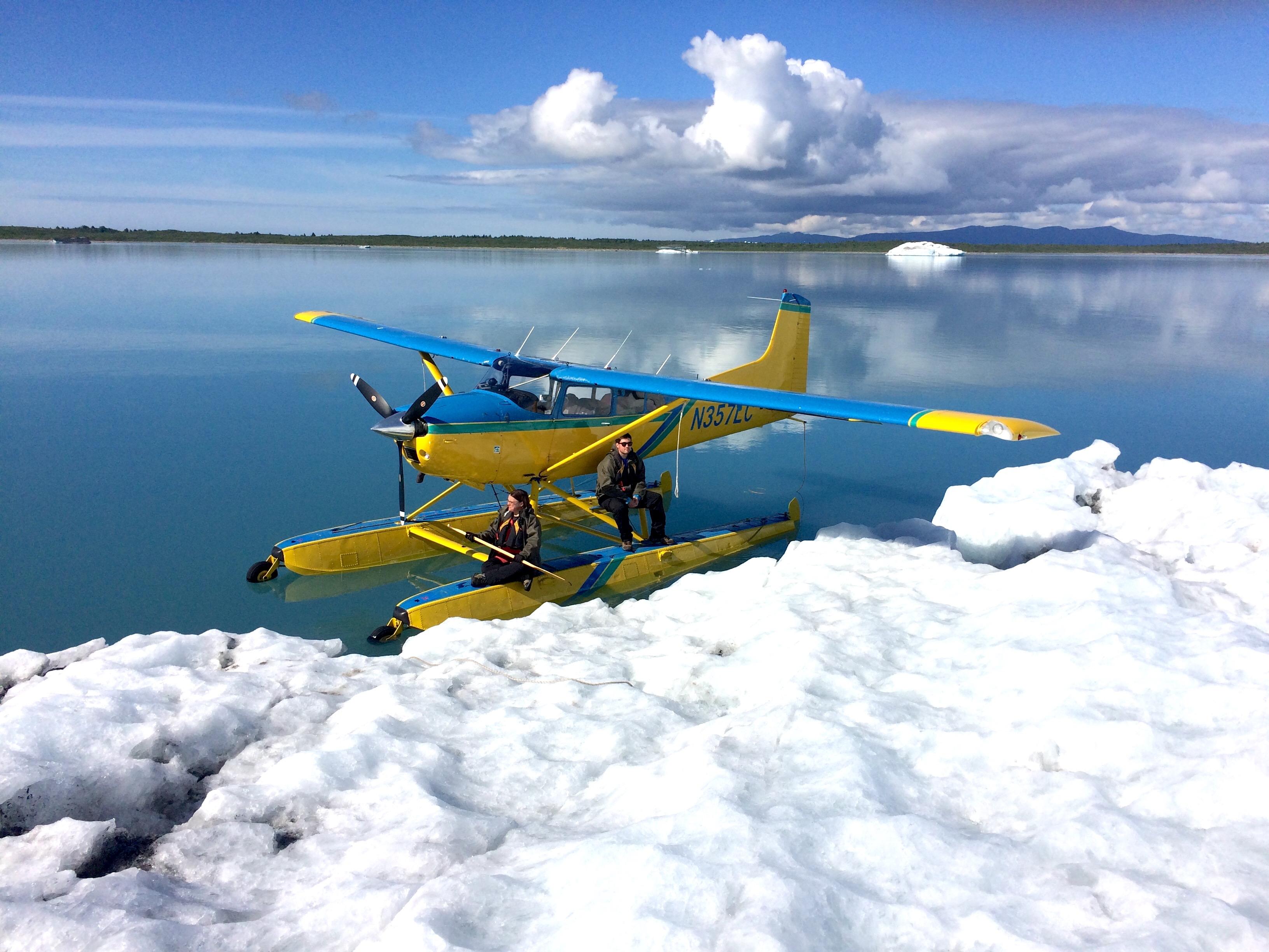Bering Glacier Ice Dock