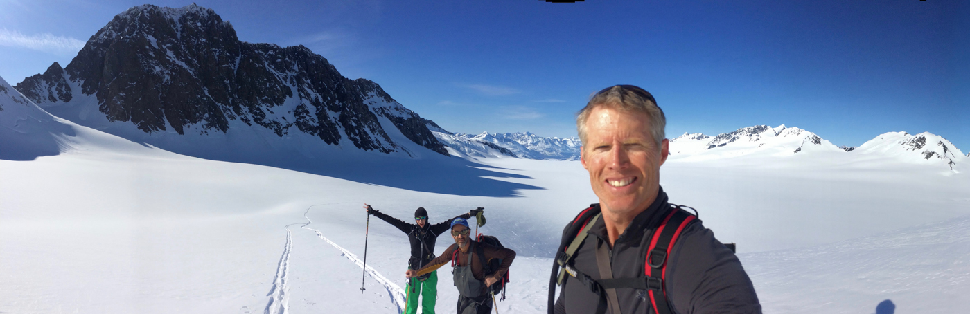 Lake George Glacier BC Ski