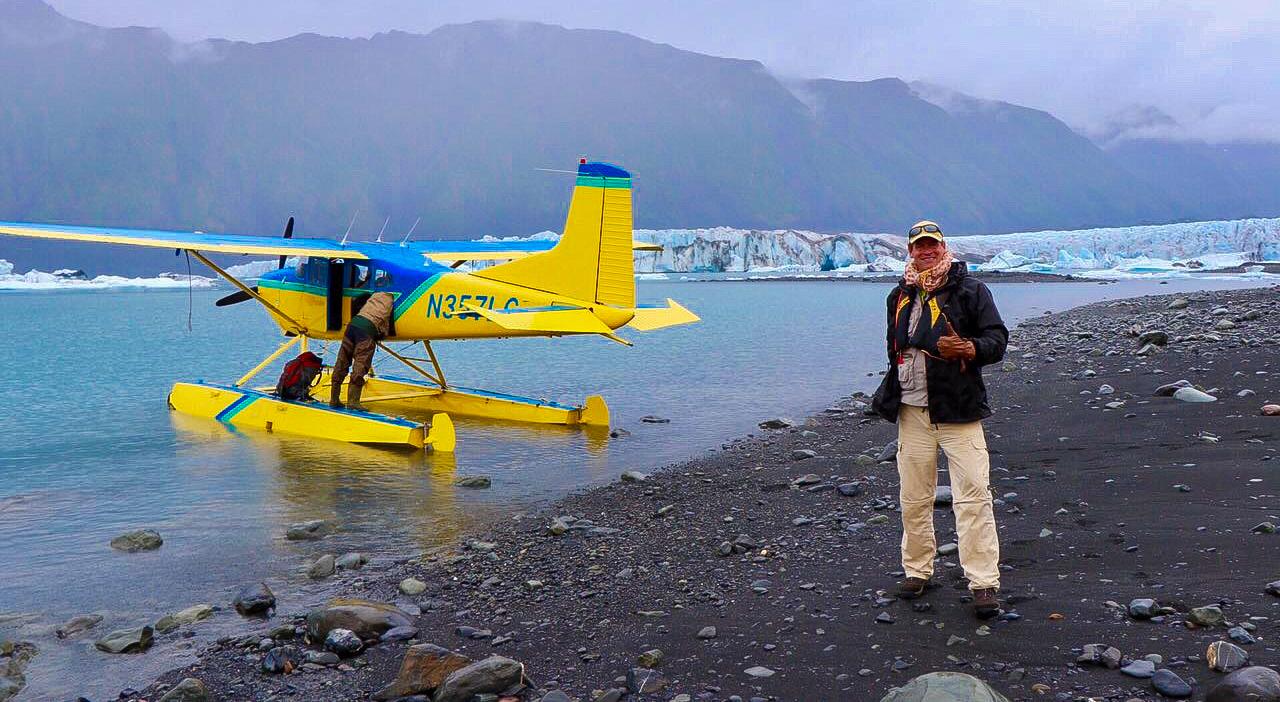 Bear Glacier Plane