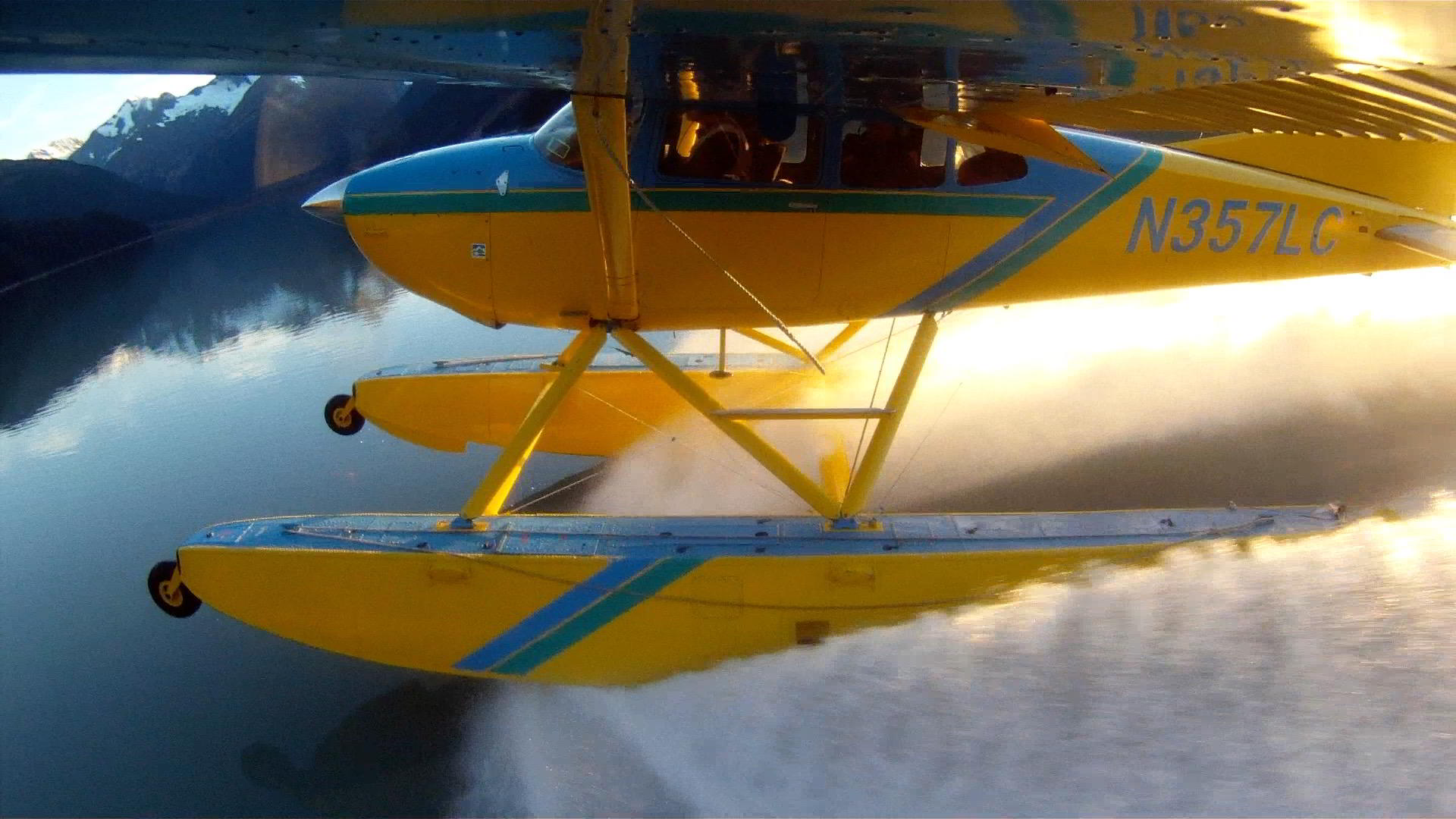 Floatplane On Step