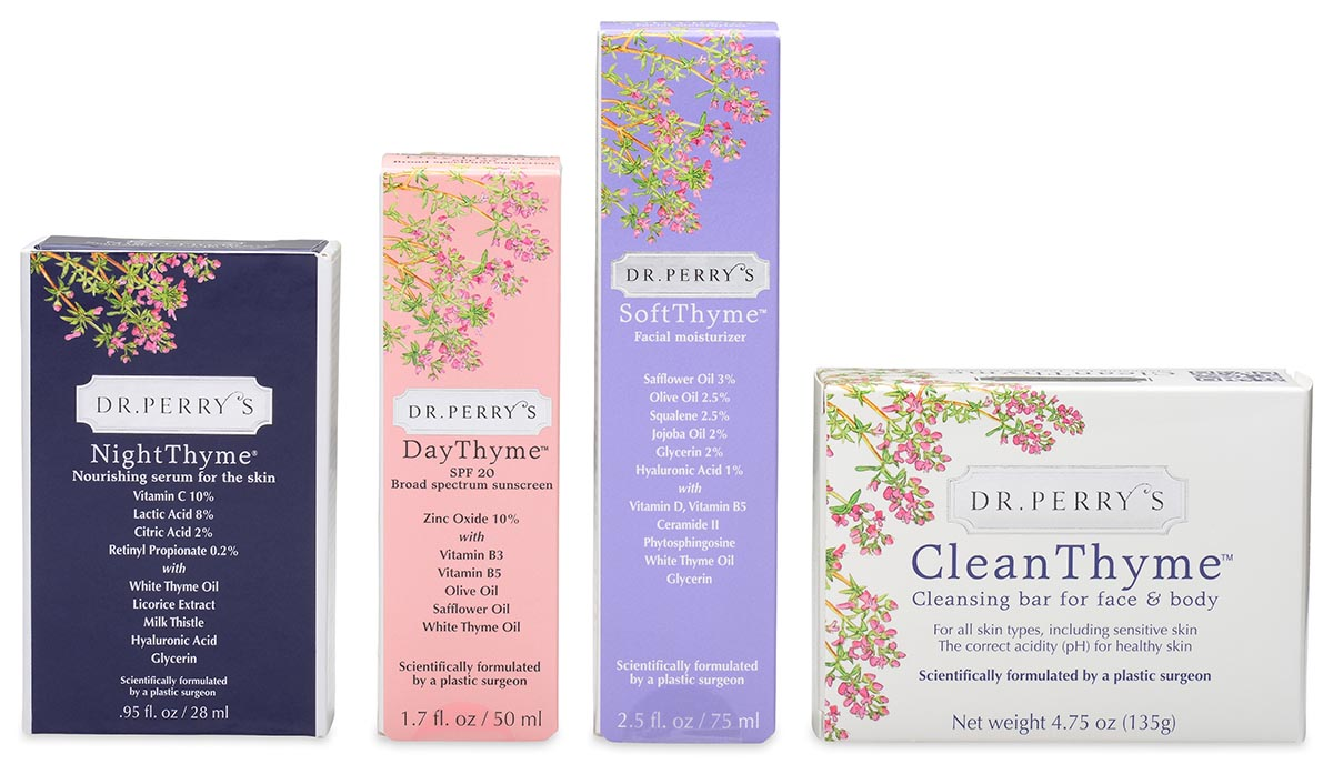 Perry Products Skincare Line