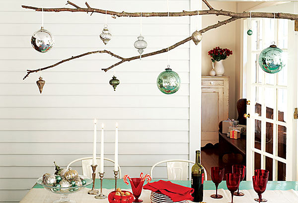 Hanging Ornament Branch