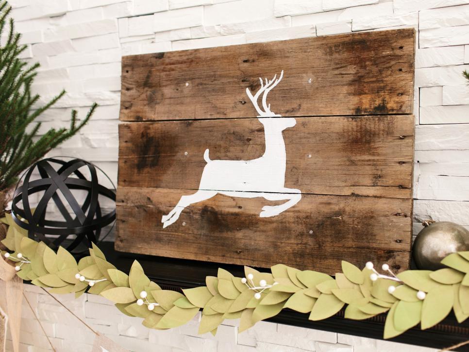 Rustic Reindeer Artwork
