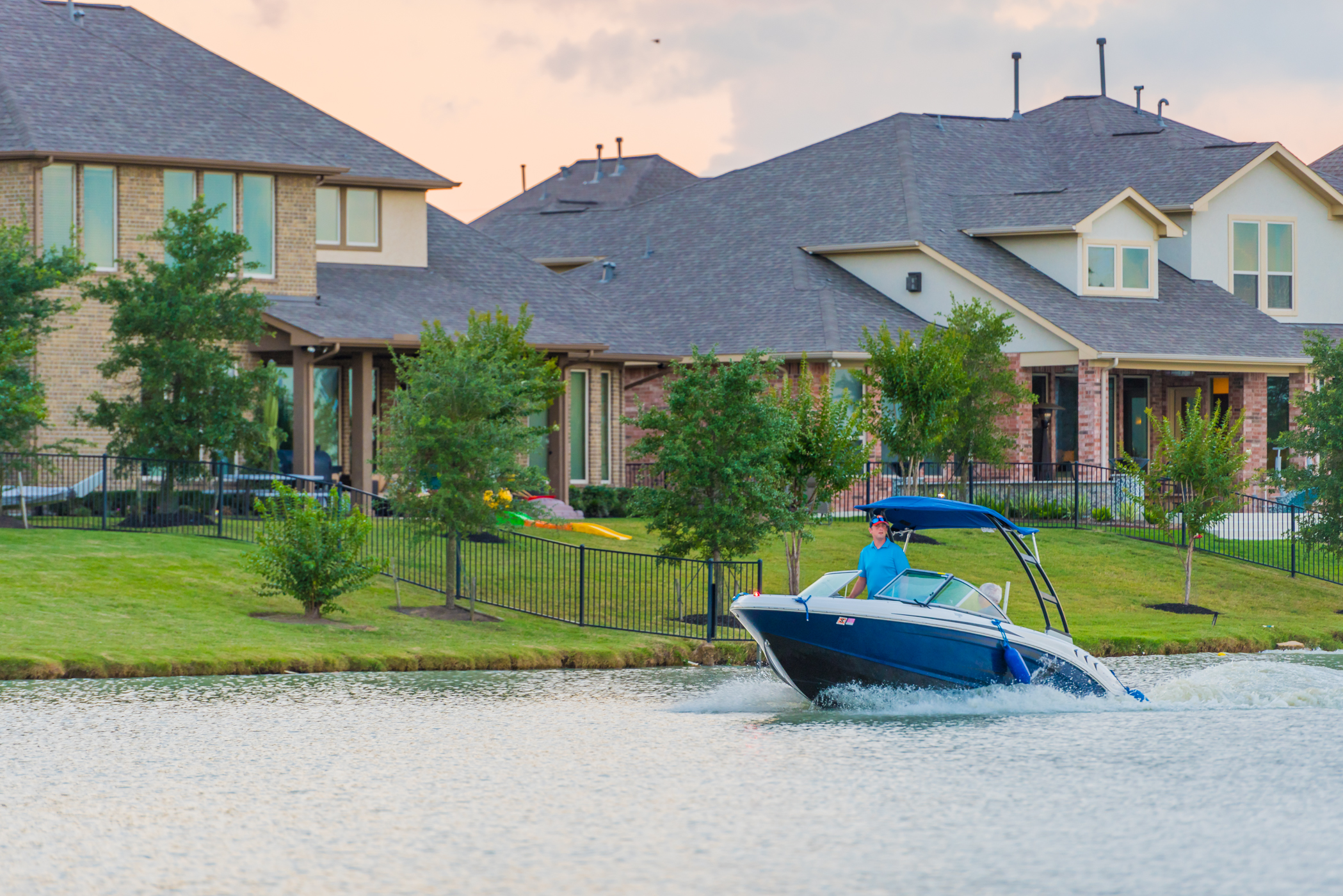 Waterfront Properties in Cypress, TX