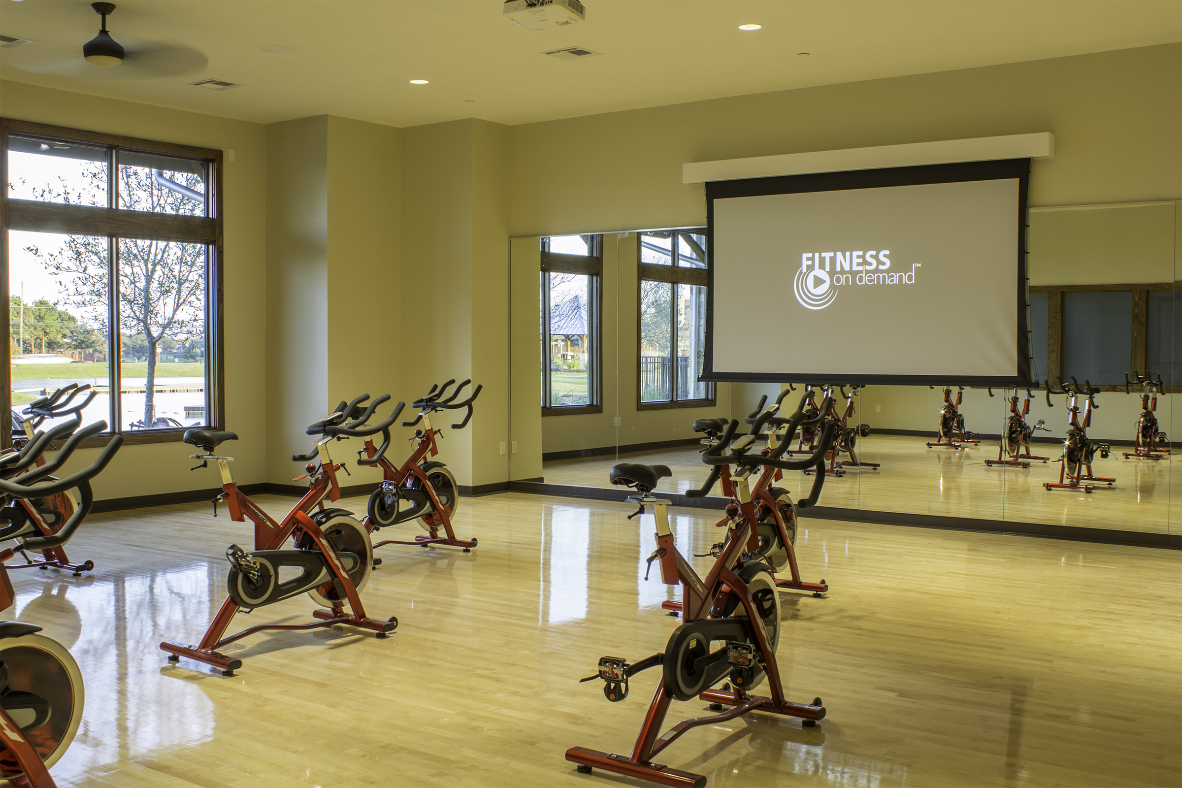 Fitness Center in Adult Community Cypress, TX