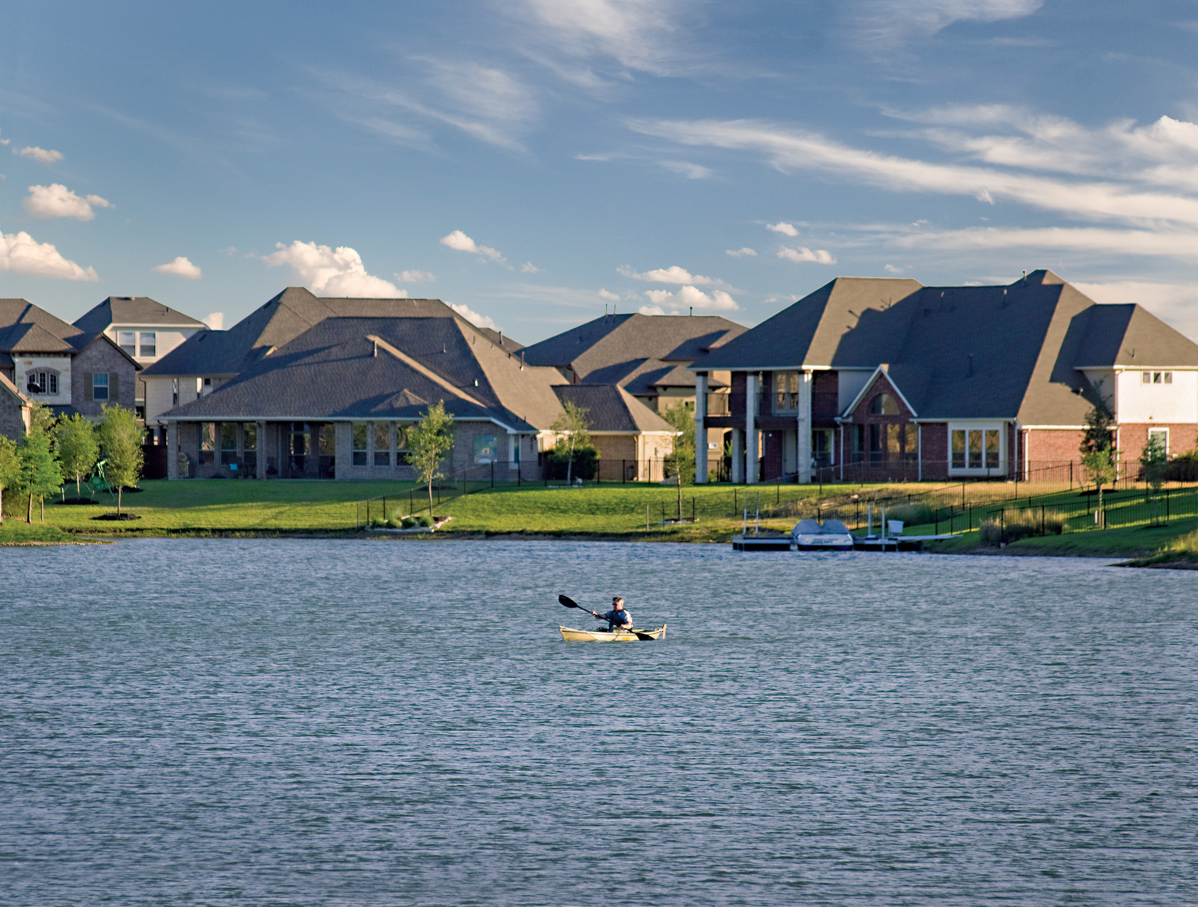 Custom Waterfront Homes Cypress, TX